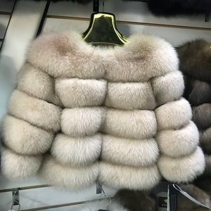 Jackets & Blazers - LUXURIOUS GENUINE ARCTIC FOX  FUR COAT